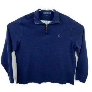 Polo Ralph Lauren Estate Rib 1/4 Pullover Sweater